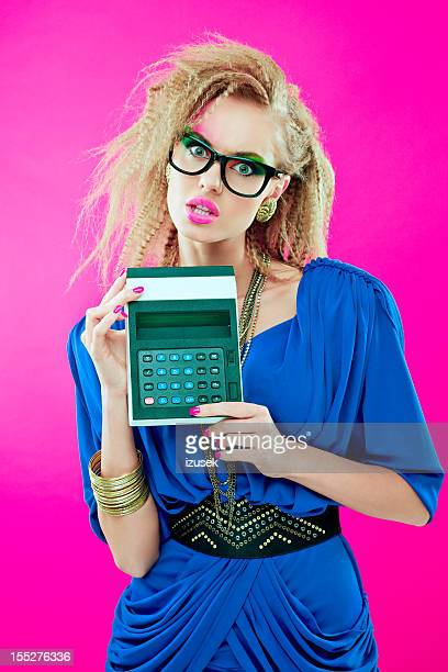 80s style accountant
