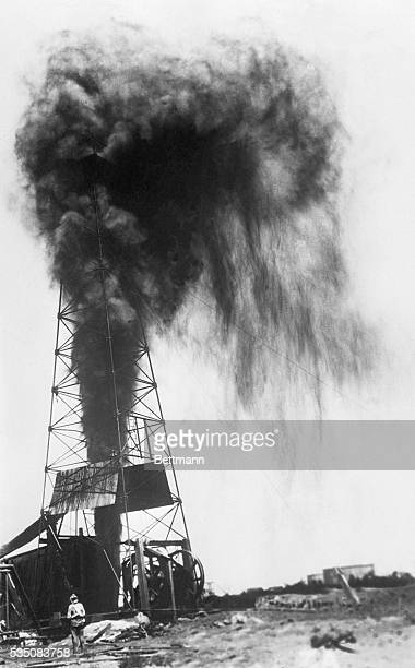 8/2/28Winkler County Texas This gusher accepted to be the largest in the United States was brought in by the Skelly Oil Company of Tulsa OK in its...