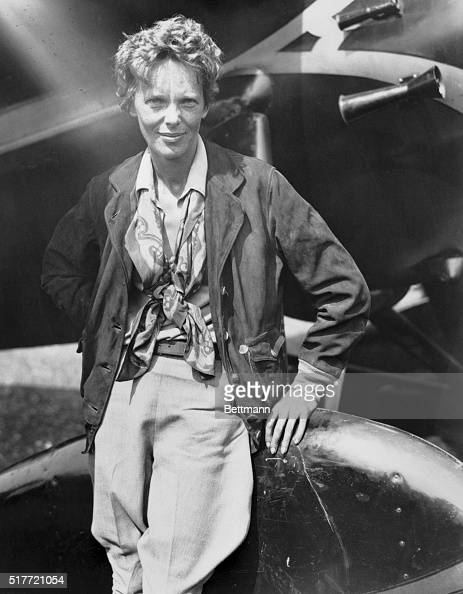 8/25/1932Mrs Amelia Earhart Putnam first woman to solo across the Atlantic became the first woman to make a solo nonstop transcontinental flight when...