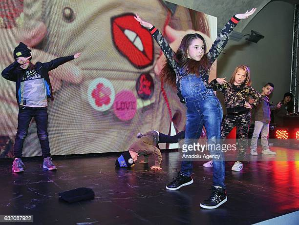 84th Pitti Immagine Bimbo which is one of the worlds platform for kids clothing and accessory collections is held in Florence Italy on January 19 2017