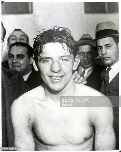 Pictured above is Mack 'Kid' Berg of England who in a ten round bout whipped Kid Chicolate of Cuba in a fast and furious ten round bout winning the...