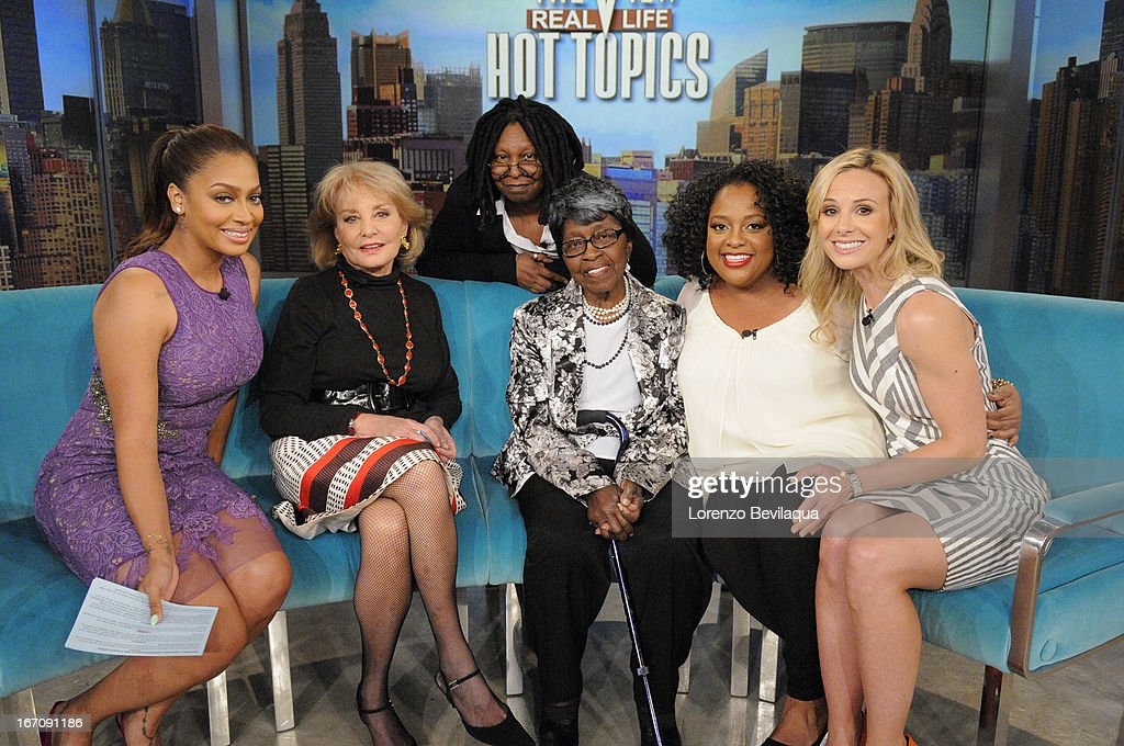 THE VIEW - 4/17/13 - 89-year old victim of an abduction and car theft, Margaret Smith, appears on 'THE VIEW,' 4/17/13 (11:00 a.m. - 12:00 noon, ET) airing on the ABC Television Network. HASSELBECK