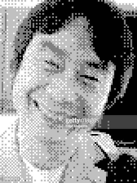 8bit portrait of legendary Japanese video game designer Shigeru Miyamoto creator of seminal video game series such as Super Mario and Donkey Kong...