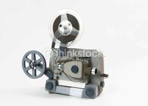8mm Film Projector Isolated Stock Photo - Thinkstock