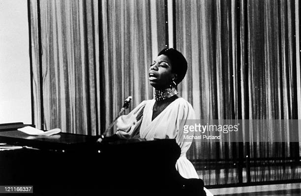Nina Simone appearing on the David Frost TV show London 1968