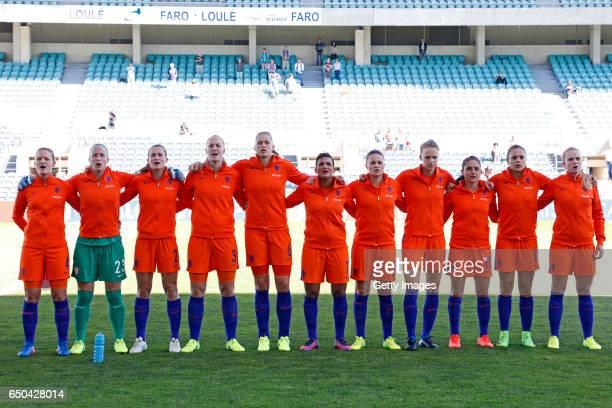 Initial team of Netherlands Women Mandy Van Den Berg Loes Geurts Desiree Van Lunteren Stefanie Van Der Gragt Anouk Dekker Shanice Van De Sanden...