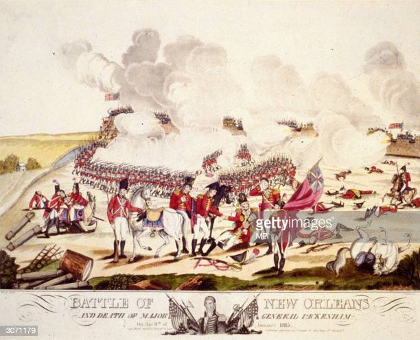 The Battle of New Orleans during the War of 1812 which took place shortly after the Treaty of Ghent British General Edward Pakenham dies along with...