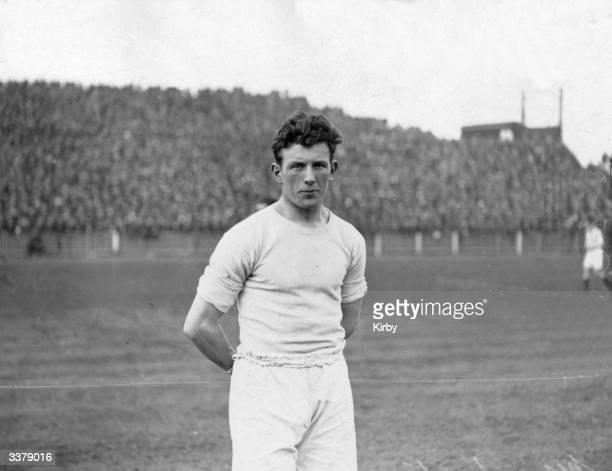 Manchester City Football Club captain and centre half Sam Cowan