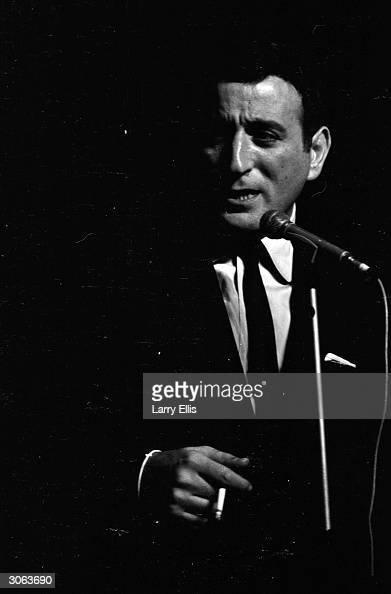 American singer Tony Bennett born Anthony Benedetto in New York City