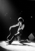 Mick Jagger of the Rolling Stones performs on stage at Wembley Empire Pool London 8th September 1973