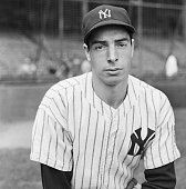 9/24/1942New York NY Joe DiMaggio ace batter and outfielder of the New York Yankees should be happy because his team won the American League pennant...