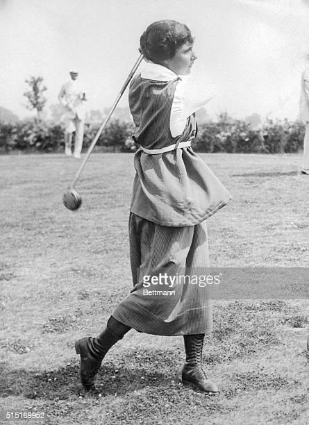 9/30/1925St Louis MOAlexis Sterling Fraser of Ottawa Canada who defeated Miss Bernice Wall of Oshkosh WI 2 and 1 in today's play of the National...
