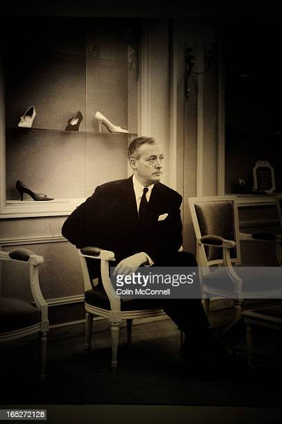MAY 9th 2012pics of This is a photo of the late Roger Vivier hanging on the wall An exhibit of works by Roger Vivierthe Frenchman who found fame in...