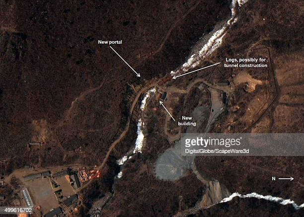 New Nuclear Test Tunnel Under Construction at North Koreas Punggyeri Figure 2 Construction related to a new portal at North Koreas nuclear test site...