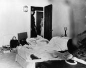 The room where film actress Marilyn Monroe died