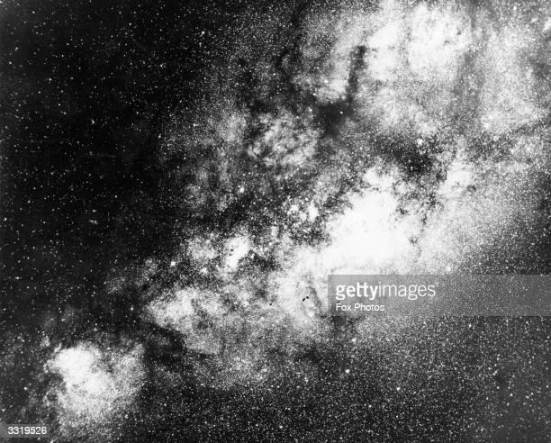 Star clouds in Sagittarius Mount Wilson Observatory Pasadena California