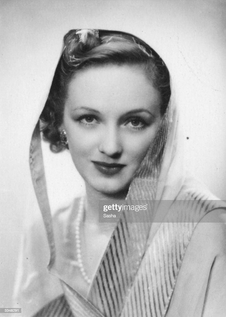 Film star Virginia Cherrill, Her Highness of Jodhpur (1908 - 1996) Discovered by Chaplin she was previously married to Cary Grant and the Earl of Jersey.