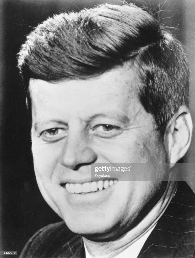 Senator John F Kennedy, the Democratic candidate who has been elected president of the USA.