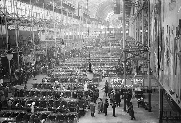 A view of Crystal Palace exhibition site in London where the Kennel Club is holding a dog show