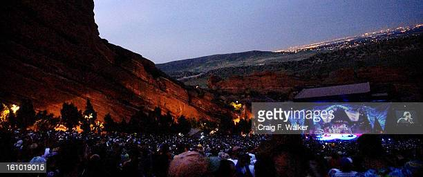 MORRISON CO JULY 07 2003 __Monday nights show of the Dead's 'Summer Getaway' tour at Red Rocks Amphitheatre As the Dead four surviving member of the...