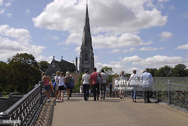 DENMARK / COPENHAGEN _English church at churchil park 27 July 2011