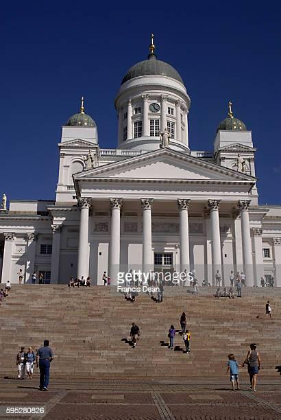 HELSINKI /FINLAND _Helsinki cathdreal 3 August 2011