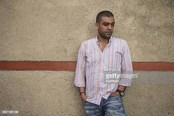 SALIM a 37 Years Old refugee from Syria He was waiting for over 5 years in Indonesia that have to left his 4 children in Turki with his parrents left...