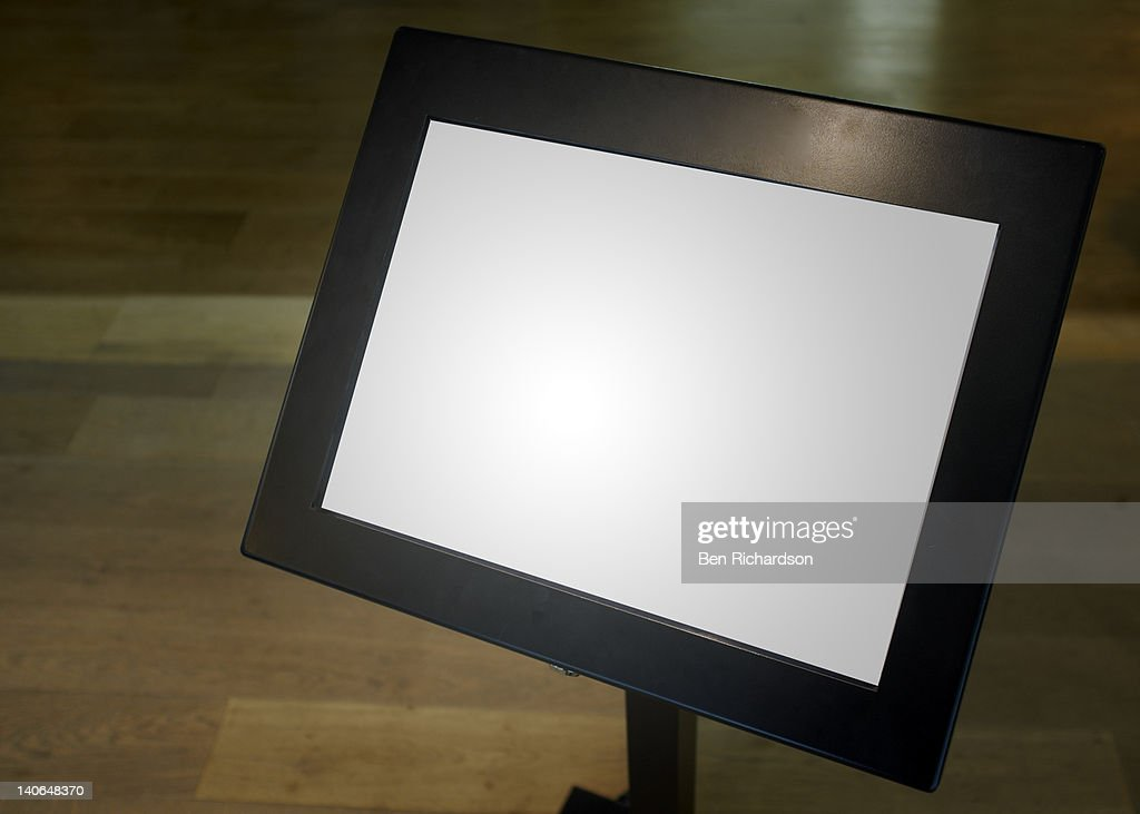 A Blank Menu Board Stock Photo | Getty Images
