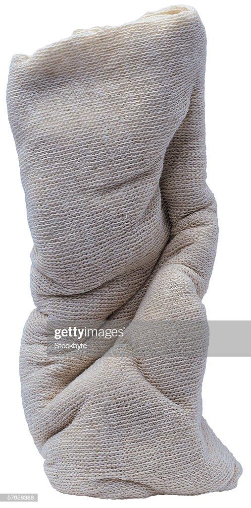 a bundle of cloth : Stock Photo