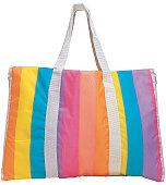 a colorful handbag