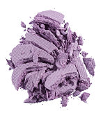 a cut out beauty product shot of mauve eyeshadow