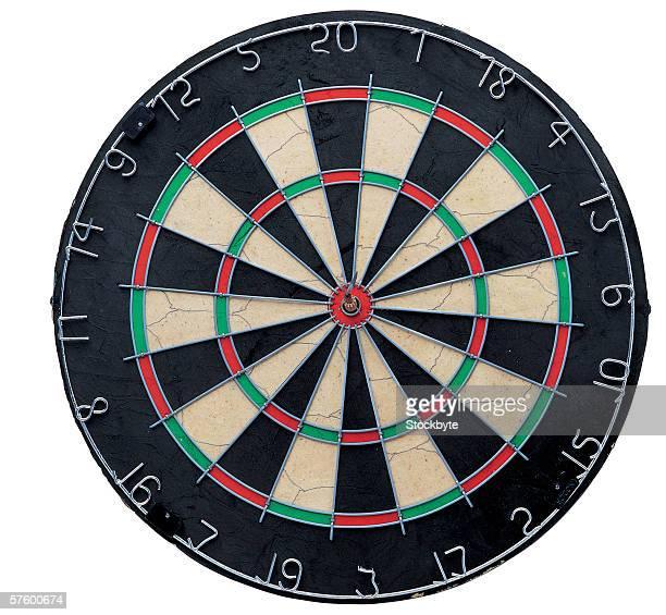 a dart board
