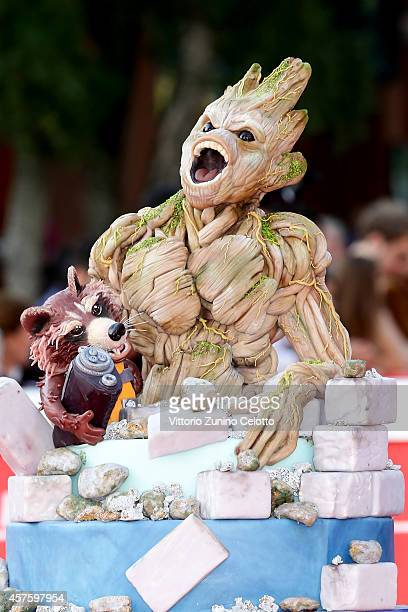 a general view during the 'Guardians of the Galaxy' Red Carpet during the 9th Rome Film Festival on October 21 2014 in Rome Italy