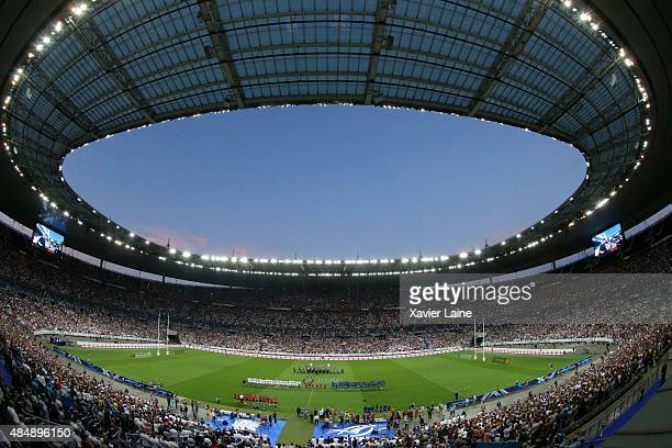 a general view of the stadium during the International Friendly games between France and England at Stade de France on august 22 2015 in Paris France