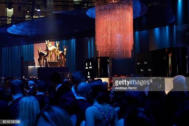 a general view the Bambi Awards 2016 party at Atrium Tower on November 17 2016 in Berlin Germany