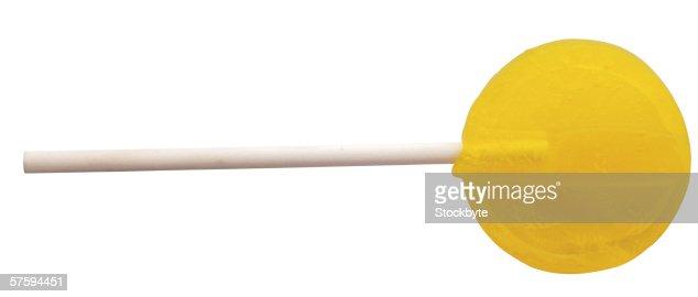 a lollipop : Foto stock