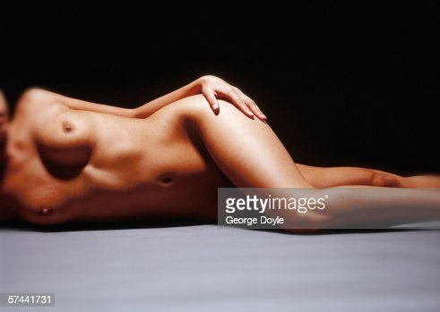Are not nude girls lying on floor