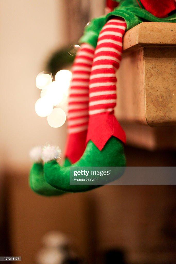 a sitting elf : Stock Photo