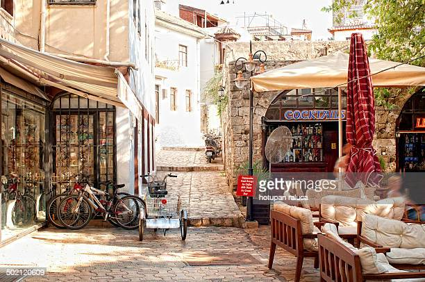 CONTENT] a street in Marmaris old town