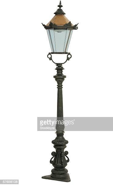 a street lamp post