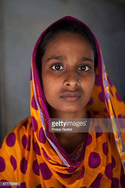 a survivor of the Rana Plaza building collapse having treatment in a hospital at Savar During the incident she was working on the 6th floor of the...