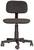 a swivel chair