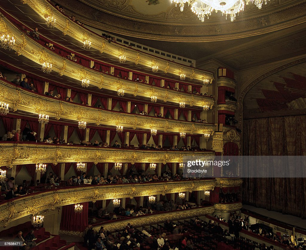 a view of an opera house