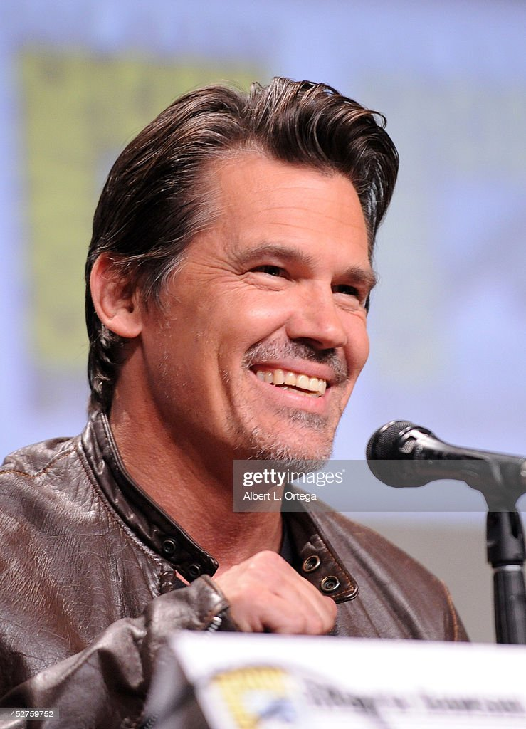 Aactor <a gi-track='captionPersonalityLinkClicked' href=/galleries/search?phrase=Josh+Brolin&family=editorial&specificpeople=243198 ng-click='$event.stopPropagation()'>Josh Brolin</a> attends 'Frank Miller's Sin City: A Dame To Kill For' panel during Comic-Con International 2014 at San Diego Convention Center on July 26, 2014 in San Diego, California.