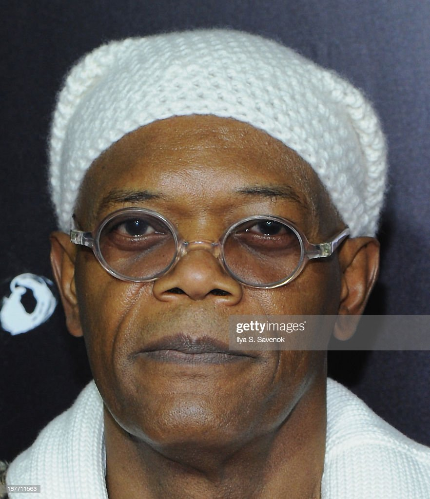 Aactor <a gi-track='captionPersonalityLinkClicked' href=/galleries/search?phrase=Samuel+L.+Jackson&family=editorial&specificpeople=167234 ng-click='$event.stopPropagation()'>Samuel L. Jackson</a> attends the screening of 'Oldboy' hosted by FilmDistrict and Complex Media with the Cinema Society and Grey Goose at AMC Lincoln Square Theater on November 11, 2013 in New York City.