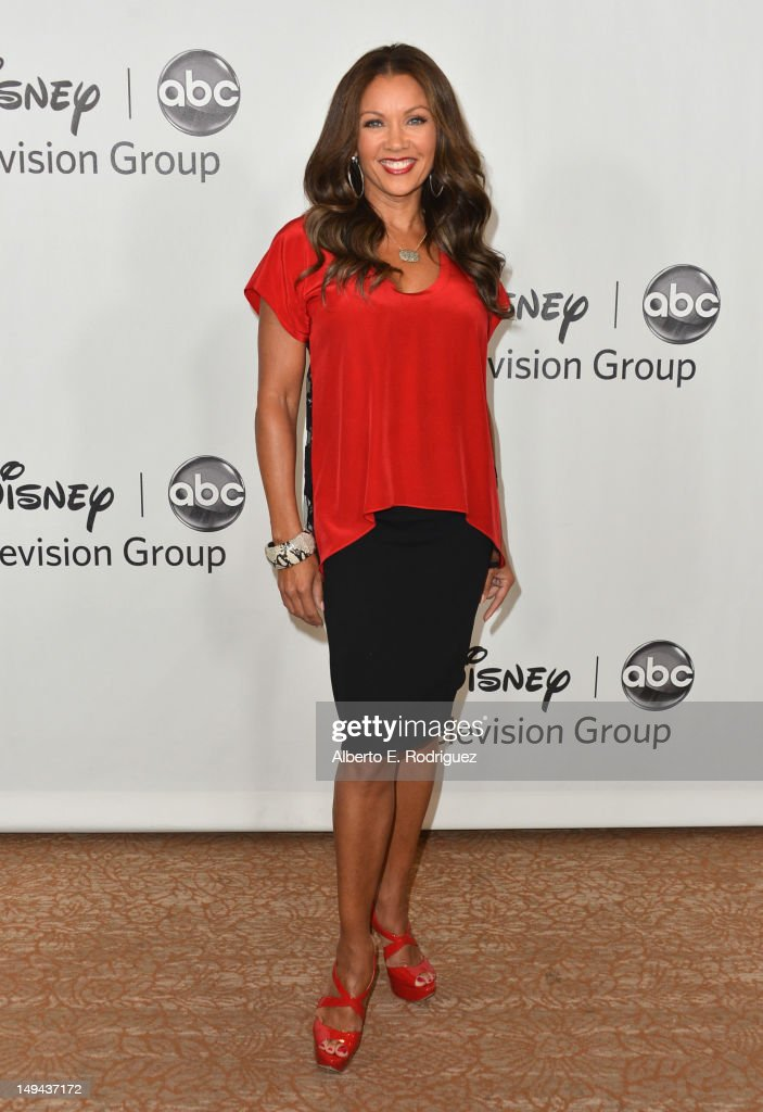 Aactress Vanessa Williams arrives to the Disney ABC Television Group's 2012 'TCA Summer Press Tour' on July 27, 2012 in Beverly Hills, California.