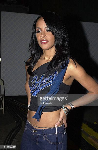 Aaliyah during MTV Icon Tribute to Janet Jackson in Los Angeles California United States
