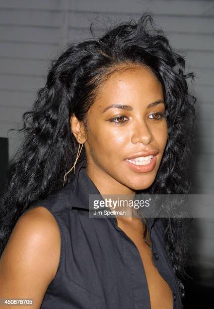 Aaliyah The Others Premiere during Aaliyah File Photos at Life Tribute Gala in Bal Harbour Florida United States