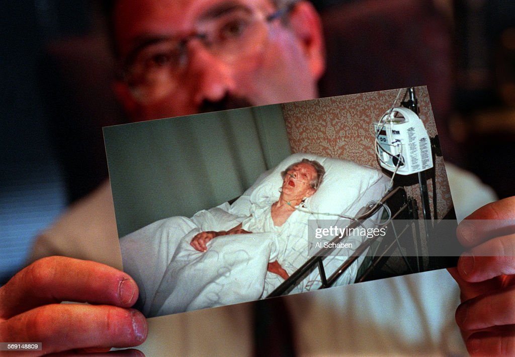 ... Windsor Gardens Nursing Home. Aanursingwinfree1215aslos Angeleslos  Angeles Attorney Gary Stern Holds A Photo Of Ora Lee Wi Pictures Getty  Images