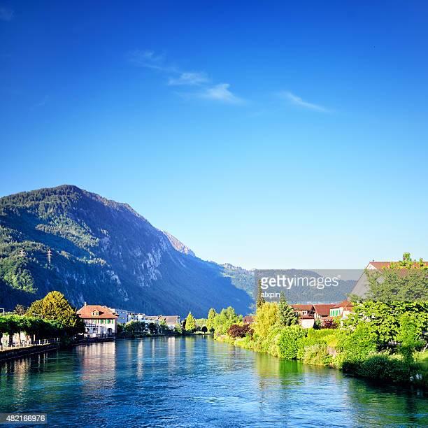 Fluss Aare, Schweiz